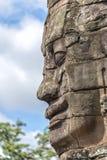 Κεφάλια του Βούδα στο ναό Bayon, Angkor Wat, Καμπότζη Στοκ Εικόνες