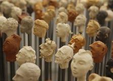 Κεφάλια 12 στοκ εικόνα