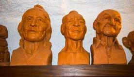 Κεφάλια Argyle Στοκ φωτογραφίες με δικαίωμα ελεύθερης χρήσης