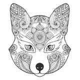 Κεφάλι αλεπούδων Στοκ Εικόνες