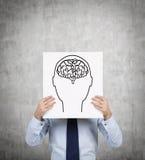 Κεφάλι και εγκέφαλος Στοκ Φωτογραφίες