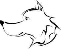 Κεφάλι σκυλιών Στοκ Εικόνα