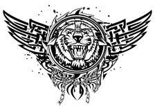 Κεφάλι τιγρών Στοκ Εικόνες