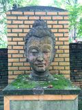 Κεφάλι του Βούδα Στοκ Εικόνες