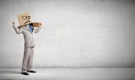 Κεφάλι χαρτοκιβωτίων Στοκ φωτογραφία με δικαίωμα ελεύθερης χρήσης