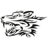 Κεφάλι λύκων στοκ εικόνες