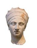 Κεφάλι Plautina αυτοκρατειρών, σύζυγος του ρωμαϊκού αυτοκράτορα Trajan Στοκ εικόνες με δικαίωμα ελεύθερης χρήσης