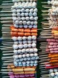 Κεφτή, χοτ-ντογκ και λουκάνικα Στοκ φωτογραφίες με δικαίωμα ελεύθερης χρήσης