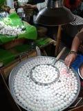 Κεφτή, fishballs στοκ εικόνα με δικαίωμα ελεύθερης χρήσης