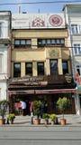 Κεφτή köftecisi Sultanahmet στην Κωνσταντινούπολη Τουρκία στοκ εικόνες