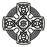 Κελτικός εθνικός σταυρός διανυσματική απεικόνιση