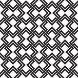 Κελτικό άνευ ραφής σχέδιο της διατομής των διπλών rhombuses Στοκ Εικόνα
