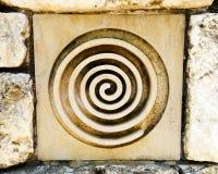 Κελτικό ή σύμβολο θεών Στοκ φωτογραφία με δικαίωμα ελεύθερης χρήσης