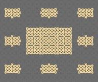 κελτικό πρότυπο Στοκ Εικόνες