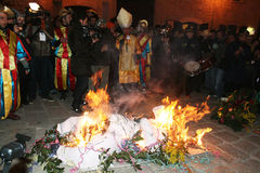 κηδεία καρναβαλιού Στοκ Φωτογραφία