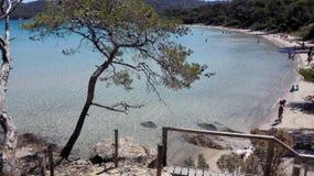 Κηλίδα ηλίου Porquerolle στοκ εικόνες με δικαίωμα ελεύθερης χρήσης