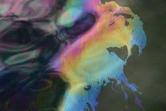 κηλίδα πετρελαίου της Αριζόνα uss Στοκ Εικόνα