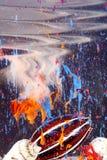 κηλίδες κοχυλιών χρωμάτων Στοκ Φωτογραφίες