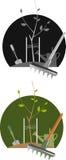 κηπουρική διευκρινισμέν& διανυσματική απεικόνιση
