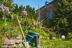 Κηπουρική - σύνολο εργαλείων για τον κηπουρό Στοκ Εικόνες