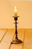 κηροπήγιο κεριών Στοκ Εικόνες