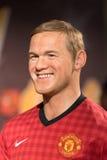 Κηροπλαστική του Wayne Rooney στην επίδειξη στοκ εικόνες με δικαίωμα ελεύθερης χρήσης
