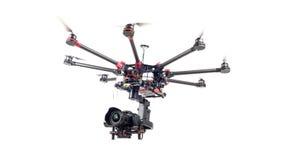 Κηφήνας, octocopter, copter στοκ φωτογραφία