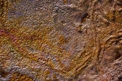 Κηλίδα πετρελαίου ουράνιων τόξων Στοκ εικόνες με δικαίωμα ελεύθερης χρήσης