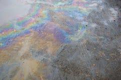 Κηλίδα πετρελαίου Στοκ Φωτογραφίες