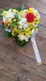 κηδεία λουλουδιών Στοκ Φωτογραφίες