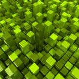 κιβώτια ανασκόπησης πράσιν& Στοκ Εικόνες
