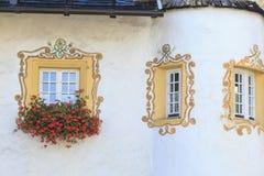 Κιβώτια παραθύρων Στοκ εικόνα με δικαίωμα ελεύθερης χρήσης