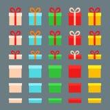 Κιβώτια Χριστουγέννων Στοκ Εικόνα