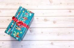 Κιβώτια δώρων με το χρωματισμένο έγγραφο Στοκ φωτογραφία με δικαίωμα ελεύθερης χρήσης