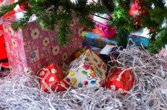 Κιβώτια δώρων Χριστουγέννων Στοκ εικόνα με δικαίωμα ελεύθερης χρήσης