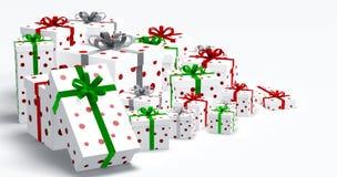 Κιβώτια δώρων Στοκ Εικόνα