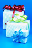 Κιβώτια δώρων Στοκ εικόνες με δικαίωμα ελεύθερης χρήσης