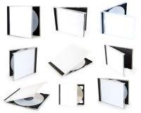 Κιβώτια Cd συλλογής στοκ εικόνες με δικαίωμα ελεύθερης χρήσης