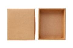 Κιβώτιο εγγράφου τεχνών με το καπάκι στοκ φωτογραφίες με δικαίωμα ελεύθερης χρήσης