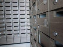 Κιβώτιο επιστολών και δωμάτιο ταχυδρομείου Στοκ Εικόνα