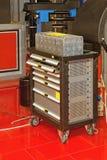 Κιβώτιο εργαλείων γκαράζ στοκ φωτογραφία με δικαίωμα ελεύθερης χρήσης