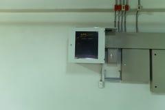 κιβώτιο ηλεκτρικό Στοκ εικόνες με δικαίωμα ελεύθερης χρήσης
