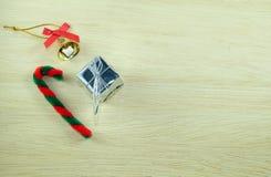 Κιβώτιο και κάλαντα Χριστουγέννων Στοκ Φωτογραφία