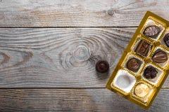 Κιβώτιο καραμελών σοκολάτας Στοκ φωτογραφία με δικαίωμα ελεύθερης χρήσης