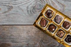 Κιβώτιο καραμελών σοκολάτας Στοκ Εικόνες