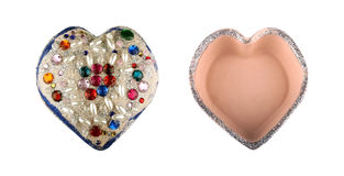 Κιβώτιο καρδιών Στοκ Φωτογραφίες
