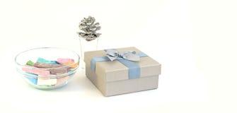 Κιβώτιο κιμωλίας και δώρων Στοκ Φωτογραφία