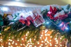 Κιβώτιο με τα Χριστούγεννα Στοκ φωτογραφία με δικαίωμα ελεύθερης χρήσης