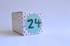 Κιβώτιο με τον αριθμό εικοσιτέσσερα Στοκ Εικόνες