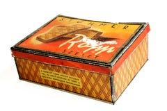 κιβώτιο μπισκότων Στοκ φωτογραφία με δικαίωμα ελεύθερης χρήσης